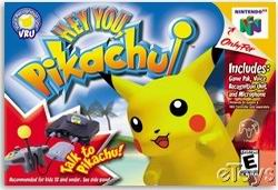 Hey You, Pikachu! (USA) Box Scan
